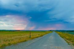 Orage du 24 aot au soir (ant54_660) Tags: photography nikon nikond5500 d5500 orage sunlight sunrise contrast light rose colorsful colors clair lightning thunderstorm storm