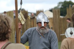 (delta23lfb) Tags: militaryodyssey livinghistory reenactor regiaanglorum vikingvillage vikings