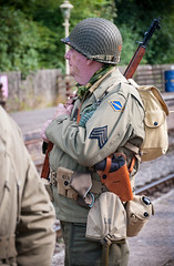 churnet valley35 (macmarkmcd) Tags: churnetvalley railway froghall 1940sweekend nikon d300 18105mm