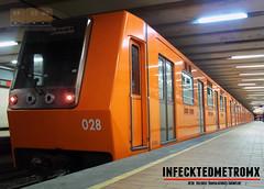 Alsthom MP-68 Norte 45 L-6 (infecktedmetromx) Tags: alstom alsthom mp68 stc mexico metrodelaciudaddemexico metro df ciudaddemexico stcmetro subway cddemexico l6 brissonneauetlotz r9496