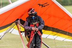 Hang glider pilot (DrAnthony88) Tags: hangglider nikkor200400f4gvrii nikond810 oldwardenaerodrome unitedkingdom bedfordshire england landed pilot