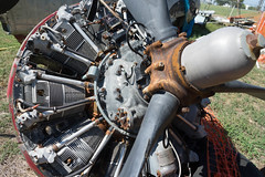 DSC00086 (HeyItzDucky) Tags: airplane museum retired out comission american america fort worth texas jet jets crafts helicoptors helicoptor engine black white old vintage classic aeroplanes steel iron aluminium aluminum rudder history wide panoramic panorama gilded gild propellor