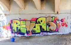 Revers HTK, US Tribute... Sekt US (Jonny Farrer (RIP) Revers, US, HTK) Tags: graffiti bayareagraffiti sanfranciscograffiti sfgraffiti usgraffiti htkgraffiti us htk revers rvs devo voidr voider reb halt