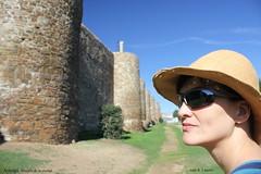 Frente a las murallas de Astorga (Juan R. Lascorz) Tags: astorga muralladeastorga murallasdeastorga reinodelen obispadodeastorga dicesisdeastorga