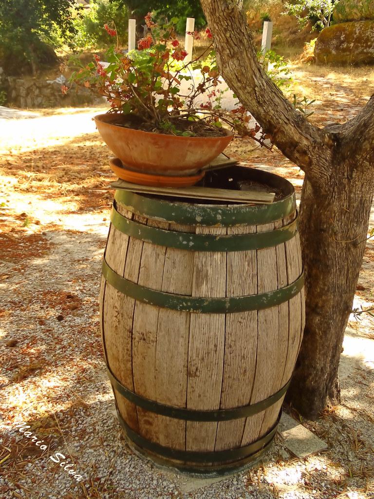 Águas Frias (Chaves) - ... já serviu para armazenar a bôa pinga ... agora virou adorno ...