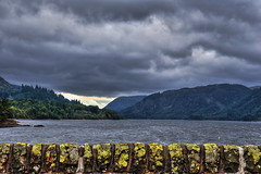 Thirlmere HDR (j.farrimond) Tags: nature clouds blue grey lakes mountains natural water landscape