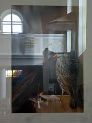Spiegelung II (Stefanie Zehfuss) Tags: kirche ausstellung bild spiegelung rahmen fotoforum
