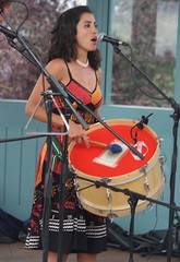 P De Jurema (2016) 02 (KM's Live Music shots) Tags: worldmusic brazil maracatu ciranda forr pdejurema albacabral zabumba drums festivalofbrasil hornimanmuseum