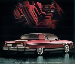 1981 Oldsmobile Ninety-Eight Regency Coupe (coconv) Tags: pictures auto door old 2 two classic cars car sedan vintage magazine ads advertising cards photo flyer automobile post image photos antique album postcard ad picture images advertisement vehicles photographs card photograph postcards 1981 vehicle autos collectible collectors brochure coupe automobiles regency olds oldsmobile dealer 81 ninetyeight prestige