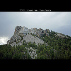 Mount Rushmore ... a tourist attraction (mariola aga ~ non-professional member) Tags: sculpture nature square carved faces wideangle mount dynamite mountrushmore presidents touristattraction granit nationalmemorial ushistory thegalaxy