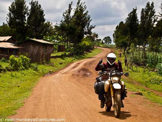 Mike in Uganda
