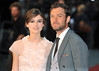 Keira Knightley and Jude Law The World Premiere of Anna Karenina held at the Odeon Leicester Square