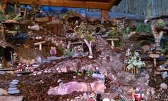 Fairy Garden (Kim's Crafts) Tags: art garden gnome outdoor crafts treehouse pixie elf fairy fantasy hobbit recycledmaterials founditems fairygarden naturalmaterials flickrandroidapp:filter=none