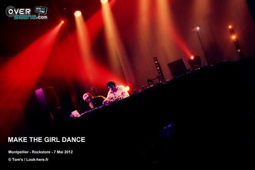 MAKE THE GIRL DANCE @ Rockstore - Montpellier - 1LOGO