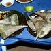 E nosso prato, foi moluscos coletados na praia