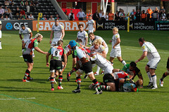 Not sure who's go what (PriceyBoy2010) Tags: sport rugby quins harlequins jamesjohnston quinsrugby joegray nickeaster dannycare chrisrobshaw joemarler
