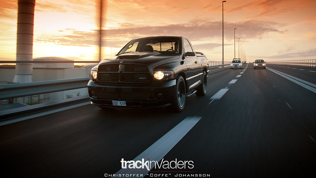 bridge sunset black car dark evening sweden 10 evil automotive dodge ram viper coffe v10 2012 srt srt10 trollhättan worldcars coffedk trackinvaders