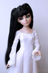 Alexandra (Trotilla) Tags: amber dress handmade alexandra 2012 16inch 41cm 14scale 201209 ellowine ooakbyjewel
