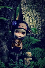 Keep walking, dont fear, Fiep! Said little Tom (Vainilladolly) Tags: doll blythe custom pei fiep vainilladolly