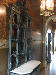 The Vestibule of one of the Houses in Tasma Terrace - Parliament Place, East Melbourne (raaen99) Tags: wallpaper history architecture hotel iron architecturaldetail antique interior lodging 19thcentury 1800s victorian entrance australia melbourne victoria hallway victoriana historical archway marble accommodation nationaltrust openhouse 1886 feature guesthouse victorianarchitecture plasterwork nineteenthcentury moh 1870s 1880s vestibule eastmelbourne 1887 coatstand boardinghouse 1878 standrewsplace parliamentplace hallstand architecturalfeature melbournearchitecture flockedwallpaper marvellousmelbourne charleswebb josephthompson periodstyle englishwallpaper lodginghouse boomstyle melbourneopenhouse privatehotel tasmaterrace rentedaccommodation williamireland architecturallydesigned boomstylearchitecture openhouse2012 boomstyleclassicism moh2012 melbourneopenhouse2012 tasmaguesthouse boomstyleclassicismarchitecture georgenipper duntonandhearnden duntonhearden