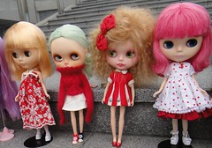 Manis and Ginger's first Blythe Meet