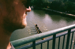 || ROW. || (Roo Lewis) Tags: film water 35mm vintage river lomo row retro oxford rowing t5 expired yashica t4