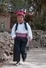 Boy in the traditional cloths - Isla Taquile (Captures.ch) Tags: street peru laketiticaca hat island islataquilla nativeboy