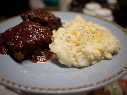 Sugar Free KC Style BBQ Sauce and Garlic Mashed Potatoes
