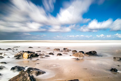 Petten Long Exposure (Tom Roeleveld) Tags: longexposure holland netherlands landscape fuji steden noordholland petten x100 polarizationfilter bwnd110