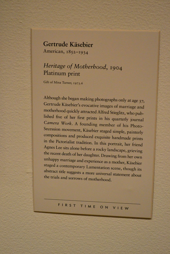 how to write a museum placard