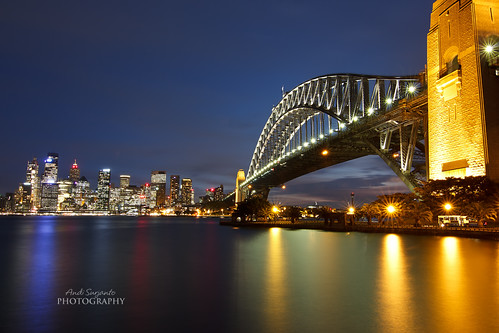 Harbour Bridge and City of Sydney