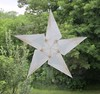 White 5 Pointed Star