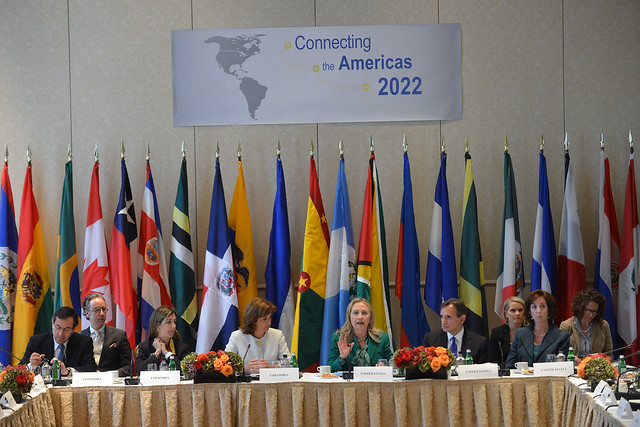 Secretary Clinton Delivers Remarks at the Connecting the Americas 2022 Ministerial