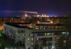 Night view 2 (Matti Vinni) Tags: night dark landscape lights edited oulu kemira inti
