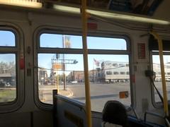 20120411 05 Metra, Harlem Ave, (davidwilson1949) Tags: railroad bus train illinois transit pace metra berwyn