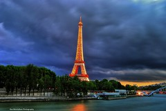 PARIS (Rex Montalban Photography) Tags: longexposure paris france europe eiffeltower bluehour hdr hss rexmontalbanphotography sliderssunday