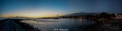Marine de Terre Sainte (Olivier Henguelle) Tags: sunset panorama reunion de landscape island la sainte sony ile terre phare nocturne paysages runion panoramique nex saintpierre 5n