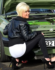 HEELS AND WHEELS (simongavin83) Tags: sexy beautiful leather nice pretty highheels candid gorgeous models posing blonde stunning bonnie heels ayr modelling leatherjacket carshow beautifulgirls prettygirls stilettos vauxhall gorgeousgirls lassies nicelooking nikond5100 bonnielassies ayrspectacular ecorz ecorzgirls