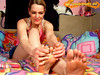 Barefoot (Fussfreude-Tom) Tags: feet foot yummy toes bare sweaty barefoot soles stinky