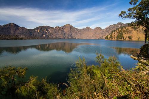 Segara Anak Lake in Mount Rinjani