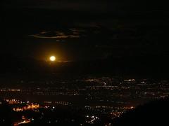 Moonrise over Quito (Bananas Quarterly) Tags: landscape quito moonrise