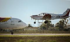 (P A - Photography) Tags: canon pa 28 jerez fte 600mm 2xextender sigma120300 canon5dmk3 mygearandme flighttrainingeurope jerezairport