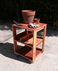 "Wooden Work Table - gardening • <a style=""font-size:0.8em;"" href=""https://www.flickr.com/photos/87478652@N08/8055855520/"" target=""_blank"">View on Flickr</a>"