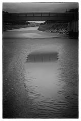 Laghi di citt (<NERVO> Luca) Tags: bridge river reflex fiume ponto canale riflesso pozzanghera secca
