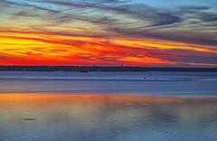 Night boat (Kansas Poetry (Patrick)) Tags: sunset evening boat lawrenceks clintonlake patrickemerson patricknancyprepare