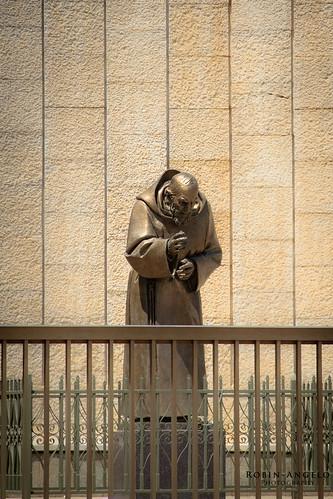 La statue de Padre Pio