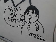 Character. (Durgur) Tags: graffiti iceland list ísland fita moes fegurð listaverk veggjarkrot