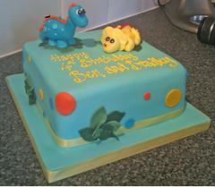 Baby Dinosaur Birthday Cake