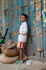 Homeless boy in New Delhi, India (BDphoto1) Tags: poverty boy india color vertical standing outdoors one indian homeless photograph ethnic cultural