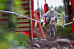 Greg Minnaar (Peter F Photography) Tags: world santa cup greg downhill cruz 2012 syndicate uci hafjell minnaar peterfphotographycom